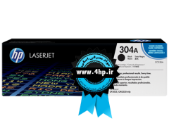 HP 304A Black Original LaserJet Toner Cartridge CC530A